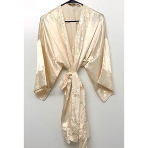 Vintage Victoria's Secret Gold Label Robe OS
